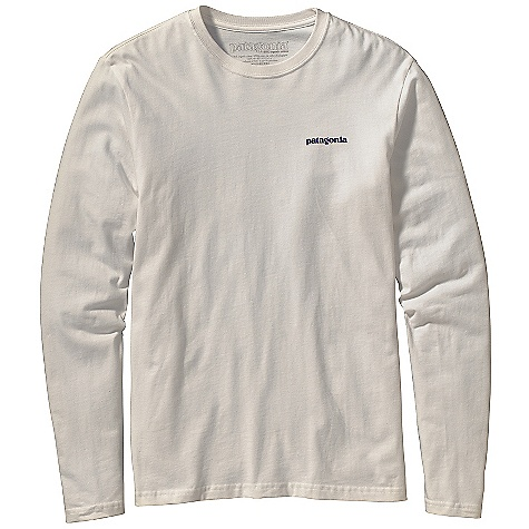 Patagonia Men's Long Sleeve Ice Climber T-Shirt DECENT FEATURES of the Patagonia Men's Long-Sleeved Ice Climber T-Shirt Screen-print inks are PVC - and phthalate-free Taped shoulder seams for comfort Photo by Randy Radcliff Artist: Randy Rackliff The SPECS Slim fit Weight: 5.4 oz / 153 g 5.4-oz 100% organic cotton This product can only be shipped within the United States. Please don't hate us. - $40.00