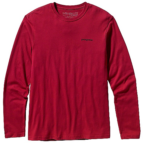 Patagonia Men's Long Sleeve Sort Out Ritual T-Shirt DECENT FEATURES of the Patagonia Men's Long-Sleeve Sort Out Ritual T-Shirt Screen-print inks are PVC- and phthalate-free Taped shoulder seams for comfort Photo by Glen Denny The SPECS Regular fit Weight: 5.4 oz / 153 g 5.4-oz 100% organic cotton This product can only be shipped within the United States. Please don't hate us. - $40.00