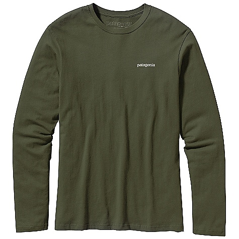 Patagonia Men's Long Sleeve World Trout Hooked T-Shirt DECENT FEATURES of the Patagonia Men's Long Sleeve World Trout Catch T-Shirt Screen-print inks are PVC- and phthalate-free Taped shoulder seams for comfort 20 singles super soft ring spun organic cotton Artist: AD Maddox The SPECS Regular fit Weight: 8.7 oz / 246 g 5.4-oz 100% organic cotton This product can only be shipped within the United States. Please don't hate us. - $40.00