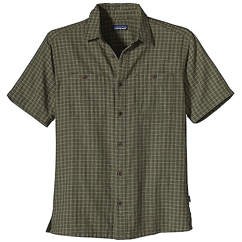 Free Shipping. Patagonia Men's Migration Hemp Shirt DECENT FEATURES of the Patagonia Men's Migration Hemp Shirt Soft, Breathable Hemp Organic Cotton Blend for Warm-Weather Comfort Button-Front Shirt with Forward-Shoulder Seams and Coconut Buttons Button-Through Patch Chest Pockets Hem with Side Vents Subtle Shirttail Hem The SPECS Regular fit Weight: 7.4 oz / 209 g 4 oz 55% Hemp, 45% Organic Cotton This product can only be shipped within the United States. Please don't hate us. - $59.00