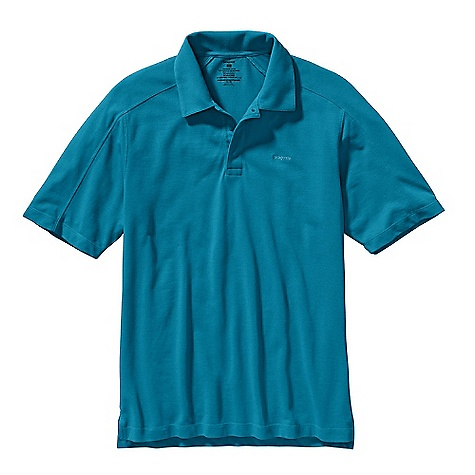 Free Shipping. Patagonia Men's Pique Vitaliti Polo DECENT FEATURES of the Patagonia Men's Pique Vitaliti Polo Lightweight, quick-drying, organic cotton, recycled polyester fabric in a pique knit Polo shirt has a hidden snap placket Offset shoulder seams and side vents for added comfort Subtle drop-tail hem The SPECS Regular fit Weight: 9.9 oz / 280 g 6.5-oz 70% organic cotton, 30% all-recycled polyester pique This product can only be shipped within the United States. Please don't hate us. - $69.00