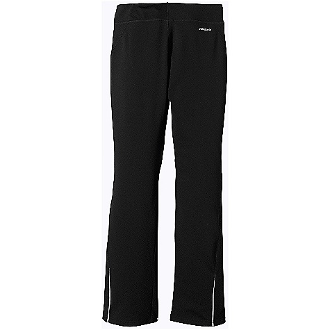 Free Shipping. Patagonia Women's Speedwork Pant DECENT FEATURES of the Patagonia Women's Speedwork Pant Unique fabric with a nylon/spandex exterior provides great no-show coverage and wind resistance, while the soft polyester interior wicks moisture and is comfortable next to skin Tailored waistband lies flat against the stomach and the internal draw cord stays out of sight Internal key pocket lies flat at the hip to help stabilize contents Flattering back-to-front seaming ensures a perfect fit and protects skin against chafing Logo at rear hip Reflective tape runs down the side of each outer leg near hem The SPECS Slim fit Weight: 9.6 oz / 272 g Body: 6.6-oz 63% nylon/23% polyester/14% spandex double knit Contrast Panel: 3.1-oz 100% polyester (30% recycled) mesh, with Gladiodor odor control for the garment This product can only be shipped within the United States. Please don't hate us. - $79.00