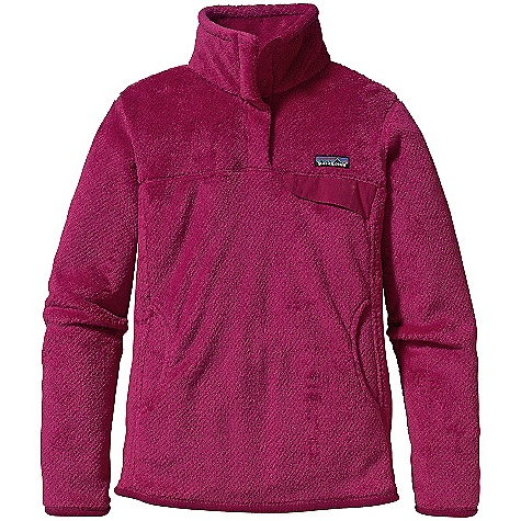 On Sale. Free Shipping. Patagonia Women's Re-Tool Snap-T Pullover DECENT FEATURES of the Patagonia Women's Re-Tool Snap-T Pullover High-pile fleece has extra-long fibers to retain warmth Stand-up collar front placket hides the 4-snap closure and is reinforced with Supplex nylon Kangaroo hand warmer pocket chest pocket secures with Supplex snap flap Yoke and princess seams add contour and shape Hip length Brushed polyester microfleece trim on cuffs and hem The SPECS Slim fit Weight: 16.8 oz / 476 g 9.3-oz Polartec Thermal Pro 100% polyester fleece This product can only be shipped within the United States. Please don't hate us. - $76.99