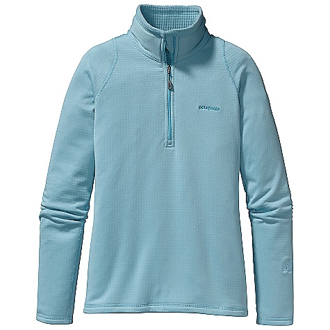 On Sale. Free Shipping. Patagonia Women's R1 Pullover DECENT FEATURES of the Patagonia Women's R1 Pullover Versatile R1 fleece provides excellent stretch, warmth, wicking and breathability in a variety of temperatures Fleece has high/low grid on inside for enhanced compressibility, airflow, and dry time Microfiber face speeds moisture-wicking and allows for easy layering Racer back seam construction reduces bulk under pack straps and enhances mobility The SPECS Slim fit Weight: 9.8 oz / 277 g 6.8-oz Polartec Power Dry 93% polyester (41% recycled), 7% spandex This product can only be shipped within the United States. Please don't hate us. - $70.99