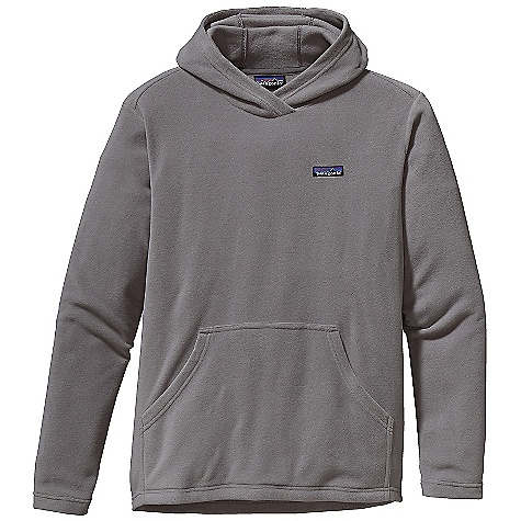 Free Shipping. Patagonia Men's Micro - D Hoody DECENT FEATURES of the Patagonia Men's Micro - D Hoody Ultrasoft, Quick-Drying Polyester Microfleece Pullover Hoody Overlaps at The Neck for Warmth Kangaroo-Pouch Handwarmer Pocket Self-Fabric at Hem and Cuff Hip Length The SPECS Regular fit Weight: 9.8 oz / 277 g 4.7 oz 100% Polyester 85% Recycled Microfleece This product can only be shipped within the United States. Please don't hate us. - $79.00