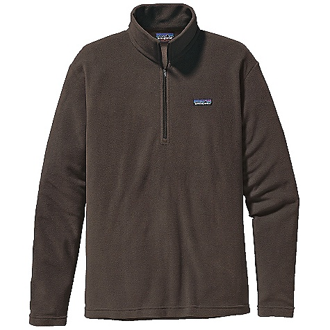 On Sale. Free Shipping. Patagonia Men's Micro D-Luxe 1-4 Zip DECENT FEATURES of the Patagonia Men's Micro D-Luxe 1/4 Zip Ultra soft quick-drying polyester micro fleece 1/4-zip pullover with zip-through stand-up collar Clean-finish on hem and cuffs Hip length The SPECS Regular fit Weight: 8.4 oz / 238 g 4.7-oz 100% polyester (85% recycled) microfleece This product can only be shipped within the United States. Please don't hate us. - $49.99