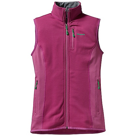 Free Shipping. Patagonia Women's Piton Hybrid Vest DECENT FEATURES of the Patagonia Women's Piton Hybrid Vest Polartec Wind Pro with Hard face Technology and a DWR finish protects your front torso from wind, moisture and abrasion Polartec Power Dry fabric provides superior stretch, warmth and moisture management in the back and sides durable smooth jersey face slides easily beneath layers Warm, brushed-fleece interior moves moisture quickly to the fabric face Micro fleece-lined collar, chin guard, cuffs and hem Two zippered hand warmer pockets and one zippered chest pocket are pack- and harness-compatible No shoulder seams for pack-wearing comfort The SPECS Slim fit Weight: 7.1 oz / 201 g Front Panels: 7.9-oz Polartec Wind Pro 90% polyester (50% recycled)/10% spandex with Hard face Technology and Deluge DWR (durable water repellent) finish Back and side panels: 5.9-oz Polartec Power Dry 94% polyester (54% recycled)/6% spandex This product can only be shipped within the United States. Please don't hate us. - $149.00