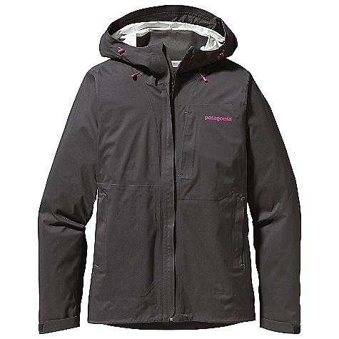 On Sale. Free Shipping. Patagonia Women's Troposphere Jacket DECENT FEATURES of the Patagonia Women's Troposphere Jacket H2No Performance Standard 2.5-layer waterproof/breathable nylon stretch shell provides excellent mobility and weather protection Helmet-compatible, 2-way adjustable hood Center-front zipper with minimal welt storm flap that creates a zipper-garage chin flap One Napoleon chest pocket and two hand warmers are harness and pack-compatible Watertight-coated pit zips Self-fabric hook-and-loop cuff closure Dual-adjust draw cord hem The SPECS Regular fit Weight: 14.7 oz / 417 g H2No Performance Standard Shell: 2.5-layer, 4-oz 40-denier 100% nylon with a waterproof/breathable barrier and a Deluge DWR (durable water repellent) finish This product can only be shipped within the United States. Please don't hate us. - $193.99