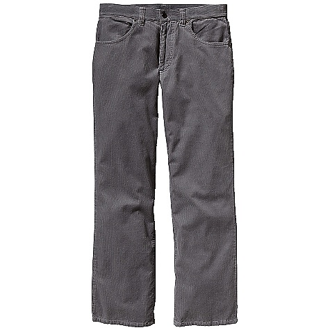 On Sale. Free Shipping. Patagonia Men's Cord Pant DECENT FEATURES of the Patagonia Men's Cord Pant Warm and soft 14-wale organic cotton corduroy 5-pocket jean style belt loops rear yoke zip fly with metal shank closure The SPECS Regular fit Inseam: short: 30in., regular: 32in., long: 34in. 8-oz 14-wale 100% organic cotton corduroy This product can only be shipped within the United States. Please don't hate us. - $56.99