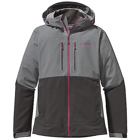 On Sale. Free Shipping. Patagonia Women's Mixed Guide Hoody DECENT FEATURES of the Patagonia Women's Mixed Guide Hoody Polartec Power Shield stretch-woven fabric is durable, highly breathable and wind-resistant waterproof/breathable H2No Performance Standard fabric in the shoulder, chest, upper arms and hood repel moisture Brushed interior for next-to-skin comfort Helmet-compatible, 2-way-adjustable hood with laminated visor for optimal visibility in bad conditions Micro fleece-lined neck and chin for comfort Chest pockets with DWR-finished reverse coil zippers two harness and pack-compatible hand warmer pockets with reverse coil zippers and storm flap for secure storage Full reach gusseted panels let you reach without raising the body of the jacket Draw cord hem The SPECS Regular fit   Weight: 19.8 oz / 561 g H2No Performance Standard Shell: 4.8-oz 70 denier 100% nylon ripstop with a waterproof/breathable barrier Soft Shell: 9.5-oz Polartec Power Shield stretch-woven 57% polyester/36% nylon/7% spandex This product can only be shipped within the United States. Please don't hate us. - $193.99