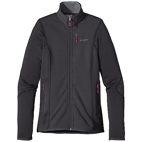 Free Shipping. Patagonia Women's Piton Hybrid Jacket DECENT FEATURES of the Patagonia Women's Piton Hybrid Jacket Polartec Wind Pro with Hardface Technology and a DWR finish protects your front torso and elbows from wind, moisture and abrasion Polartec Power Dry fabric provides superior stretch, warmth and moisture management in the main body Durable, smooth jersey face slides easily beneath layers Warm brushed-fleece interior moves moisture quickly to the fabric face Microfleece-lined collar, chin guard, cuffs and hem One zippered chest pocket and two zippered hand warmer pockets are pack- and harness-compatible No shoulder seams for pack-wearing comfort The SPECS Slim fit Weight: 10 oz / 283 g Front Panels: 7.9-oz Polartec Wind Pro 90% polyester (50% recycled), 10% spandex with Hardface Technology and Deluge DWR (durable water repellent) finish Back and Side Panels: 5.9-oz Polartec Power Dry 94% polyester (54% recycled), 6% spandex This product can only be shipped within the United States. Please don't hate us. - $169.00