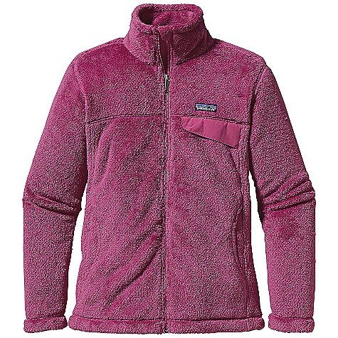 Free Shipping. Patagonia Women's Full-Zip Re-Tool Jacket FEATURES of the Patagonia Women's Full-Zip Re-Tool Jacket Deep-pile fleece with 51% recycled polyester has extra-long fibers for warmth retention Stand-up collar has double fleece for warmth full-length zipper with wind flap and zipper garage, blocking out the wind and keeping you nice and toasty Yoke and princess seams for a contoured feminine fit Supplex nylon chest pocket flap with stay-put envelope construction Hand warmer pockets, great for watching the football game on a chilly fall night Hip length, covering where your shirt hits your pants, totally avoiding that chill you get with other jackets - $149.00