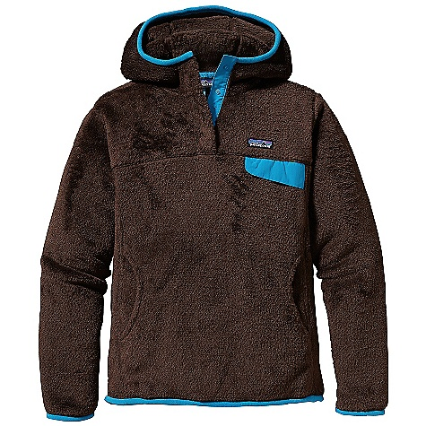 On Sale. Free Shipping. Patagonia Women's Re-Tool Hoody DECENT FEATURES of the Patagonia Women's Re-Tool Hoody Deep-pile fleece with 51% recycled polyester has extra-long fibers for warmth retention Hood for extra warmth Hidden 4-snap closure on front placket is reinforced with Supplexin. nylon Yoke and princess seams for a contoured, feminine fit Brushed micro-polyester fleece trim around hood opening, sleeve cuffs and hem Supplex nylon chest pocket flap with stay-put envelope construction Kangaroo handwarmer pocket Hip length The SPECS 9-oz Polartec Thermal Pro 100% polyester fleece (51% recycled) Weight: 16.9 oz / 479 g Slim fit This product can only be shipped within the United States. Please don't hate us. - $75.99