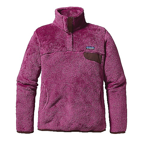 On Sale. Free Shipping. Patagonia Women's Re-Tool Snap-T Pullover FEATURES of the Patagonia Women's Re-Tool Snap-T Deep-pile fleece with 51% recycled polyester has extra-long fibers for warmth retention Stand-up collar has double fleece for warmth front placket hides the 4-snap closure and is reinforced with Supplex nylon Yoke and princess seams add contouring and shaping Brushed polyester micro-fleece trim on cuffs and hem Supplex nylon chest pocket flap with stay-put envelope construction Kangaroo-style hand warmer pocket Hip length - $88.99