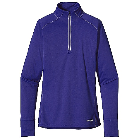 On Sale. Free Shipping. Patagonia Women's Fore Runner 1-4 Zip DECENT FEATURES of the Patagonia Women's Fore Runner 1/4 Zip Super soft polyester double knit fabric is highly breathable, wicks moisture and provides 30-UPF sun protection Offset shoulder seams for minimum chafe 2 1/2in. collar protects neck from drafts and doesn't bind Reflective zipper allows for venting Wide cuff at sleeve hem incorporates a small pocket Reflective logos at left hem and center-back neck The SPECS Slim fit 3.5-oz 100% polyester double knit with 30-UPF sun protection and Gladiodor odor control for the garment Weight: 5.2 oz / 147 g This product can only be shipped within the United States. Please don't hate us. - $40.99