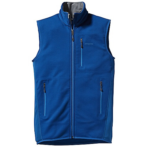 Free Shipping. Patagonia Men's Piton Hybrid Vest DECENT FEATURES of the Patagonia Men's Piton Hybrid Vest Polartec Wind Pro with Hardface Technology and a Deluge DWR finish protects your front torso from wind, moisture and abrasion Polartec Power Dry fabric provides superior stretch, warmth and moisture management in the back durable smooth jersey face slides easily beneath layers Warm brushed-fleece interior moves moisture quickly to the fabric face Micro fleece-lined collar, chin guard, cuffs and hem One zippered chest pocket and two zippered hand warmer pockets are pack- and harness-compatible No shoulder seams for pack-wearing comfort The SPECS Slim fit Weight: 8.3 oz / 235 g Front Panels: 7.9-oz Polartec Wind Pro 90% polyester (50% recycled)/10% spandex with Hardface Technology and Deluge DWR (durable water repellent) finish Back and Side Panels: 5.9-oz Polartec Power Dry 94% polyester (54% recycled)/6% spandex This product can only be shipped within the United States. Please don't hate us. - $149.00
