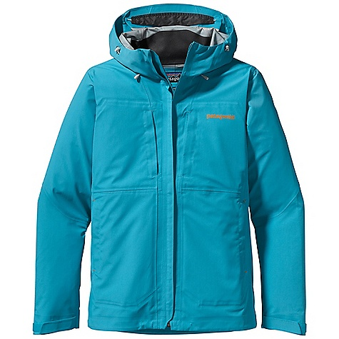 Free Shipping. Patagonia Women's Exosphere Jacket DECENT FEATURES of the Patagonia Women's Exosphere Jacket H2No Performance Standard shell 3-layer waterproof/breathable nylon ripstop with a Deluge DWR finish Helmet-compatible, 2-way adjustable hood Center-front zipper with minimal welt storm flap that creates a zipper-garage chin flap Watertight-coated pit zips Pockets: two Napoleon chest pockets and two hand warmers are harness and pack-compatible one internal watertight pocket all with zippers Self-fabric hook-and-loop cuff closure Dual-adjust draw cord hem The SPECS Regular fit Weight: 18.7 oz / 530 g H2No Performance Standard Shell: 3-layer, 4.8-oz 70-denier 100% nylon ripstop with a waterproof/breathable barrier and a Deluge DWR (durable water repellent) finish This product can only be shipped within the United States. Please don't hate us. - $349.00
