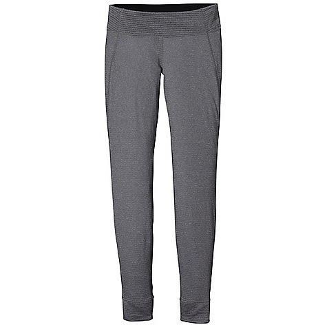 On Sale. Free Shipping. Patagonia Women's Capilene 4 EW Bottom DECENT FEATURES of the Patagonia Women's Capilene 4 EW Bottom Polartec Power Dry High Efficiency fabric has a smooth jersey face for easy layering Open grid next to skin provides superior warmth, breathability and moisture-wicking performance Spandex adds stretch and ease of movement Elastic waistband is brushed for next-to-skin softness Gusseted crotch for unimpeded mobility Machine-wash cold, tumble dry at low temperature The SPECS Slim fit Weight: 4.4 oz / 125 g 3.8-oz (108-g) Polartec Power Dry High Efficiency fabric (Solids: 92% recycled polyester/8% spandex heathers: 61% virgin polyester/30% recycled polyester/9% spandex), with Polygiene permanent odor control This product can only be shipped within the United States. Please don't hate us. - $54.99