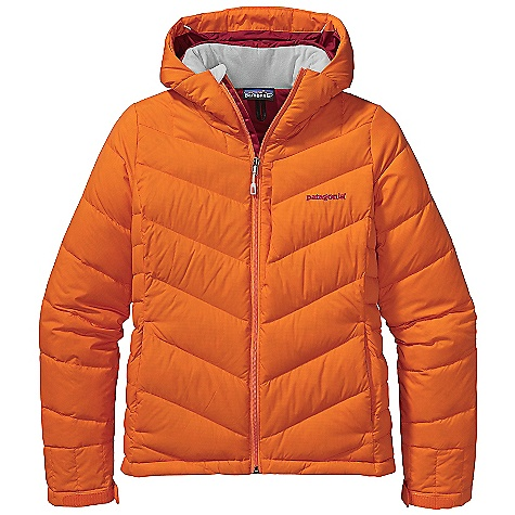 Ski On Sale. Free Shipping. Patagonia Women's Rubicon Down Jacket DECENT FEATURES of the Patagonia Women's Rubicon Down Jacket Lightweight, durable polyester ripstop fabric is windproof and highly water resistant 700-fill-power goose down insulation is warm and highly compressible Helmet-compatible, 2-way-adjustable removable hood with laminated visor for optimal visibility in bad conditions Soft micro fleece panels placed in back of neck and chin are soft next to skin High collar seals out cold air and snow Pit zips quickly release heat Articulated arms improve mobility Removable powder skirt with snap to secure webbing loop at center back keeps snow out and skirt down - connects to any Patagonia Snow pants Zippered Pockets: Two hand warmers, two chest (one with secure media pocket and cable routing), one internal stash Two internal drop-in for goggles and gloves Low-profile cuff design Hem cinches to keep cold out Drawcord exits into handwarmer pockets for easy adjustment Hem can cinch for extra chilly days The SPECS Weight: 24.7 oz / 700 g Shell: 1.75-oz 40-denier 100% polyester ripstop coated with PU and a Deluge DWR (durable water repellent) finish Lining and Powder Skirt: 2-oz 100% polyester plain weave Insulation: 700-fill-power premium European goose down This product can only be shipped within the United States. Please don't hate us. - $238.99