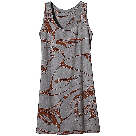 Entertainment On Sale. Free Shipping. Patagonia Women's Point Lobos Dress DECENT FEATURES of the Patagonia Women's Point Lobos Dress Soft-handed organic cotton jersey-knit blend with smooth drape Short tank-style dress to layer or wear alone Sleeveless dress with a scoop neckline Above-the-knee length The SPECS 4.8-oz 55% organic cotton, 45% Tencel lyocell jersey Weight: 5.3 oz / 150 g Slim fit This product can only be shipped within the United States. Please don't hate us. - $34.99