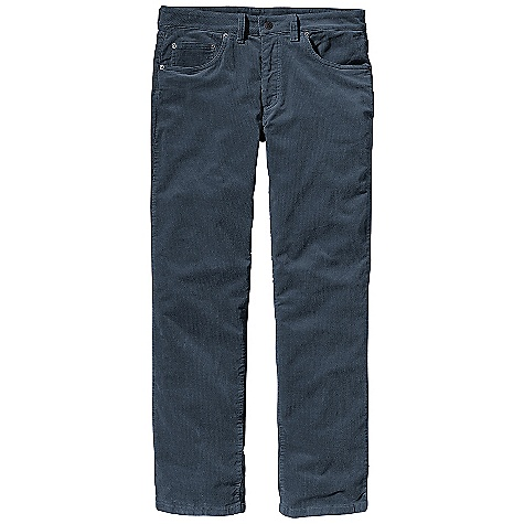 Free Shipping. Patagonia Men's Straight Cord Pant DECENT FEATURES of the Patagonia Men's Straight Cord Pant Warm and soft 16-wale corduroy with a hint of stretch Classic 5-pocket jeans styling belt loops rear yoke straight leg Metal shank closure and zip fly The SPECS Slim fit Inseam: 32in. 9.5-oz 16-wale 95% organic cotton 2% spandex corduroy This product can only be shipped within the United States. Please don't hate us. - $89.00