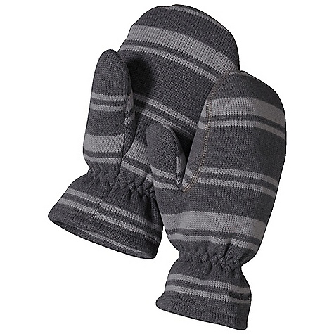 Patagonia Kids' Better Sweater Mitt DECENT FEATURES of the Patagonia Kids' Better Sweater Mitt Polyester sweater-knit face with a fleece interior in stripes or heathered over dyed yarns Separate thumb and hand compartments Snug elastic at wrist to seal out cold The SPECS Regular fit Weight: 1.8 oz / 51 g 9.5-oz 100% polyester with a sweater-knit face and fleece interior This product can only be shipped within the United States. Please don't hate us. - $25.00