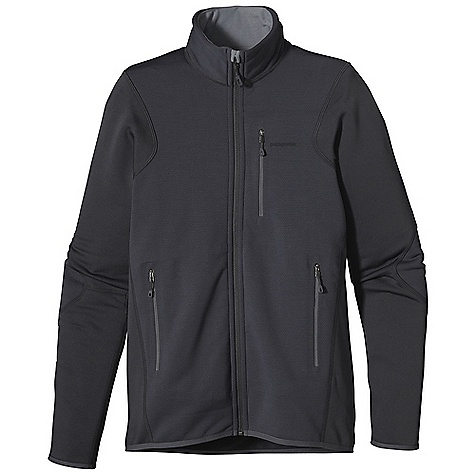 The Patagonia Men's Piton Hybrid Jacket is a wind resistant jacket for alpine Climbing. The torso and elbows Are made with Polartec Wind Pro fleece fabric Features Hardface Technology, making it smooth and durable on the outside and soft and cozy against the skin. The fabric is wind-resistant, helping you stay warm as you battle the winds on the mountains. A durable water repellent finish to the outside even deters light rain and Snow, so Mother Nature can't ruin your fun. The rest of the jacket, arms, side panels, and back have Polartec Power Dry fabric, for super stretchy ease of movement, breathability, and wicking power. Three zippered pockets hold onto your handkerchief, lip balm, and three chocolates with cAre, because, those Are definitely the things I bring along on the mountain. The chocolates always go fast. Features of the Patagonia Men's Piton Hybrid Jacket Polartec Wind Pro with Hard face Technology and a Deluge DWR (durable water repellent) finish, protects your front torso from wind, moisture and abrasion Polartec Power Dry fabric provides superior stretch, warmth and moisture management in the arms and back; durable, smooth jersey face slides easily beneath layers Warm brushed-fleece interior moves moisture quickly to the fabric face Microfleece-lined collar, chin guard, cuffs and hem One zippered chest pocket and two zippered handwarmer pockets Are pack- and harness-compatible No shoulder seams for pack-wearing comfort - $108.99