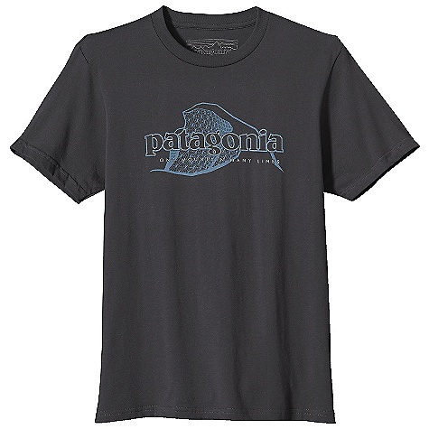 Patagonia Men's One Mountain Many Lines T-Shirt DECENT FEATURES of the Patagonia Men's One Mountain Many Lines T-Shirt Screen-Print Inks are Pvc- and Phthalate-Free Taped Shoulder Seams for Comfort 20 Singles Super Soft Ringspun Organic Cotton Artist: Nate Reifke The SPECS Slim fit Weight: 6.6 oz / 187 g 5.4 oz 100% Organic Cotton This product can only be shipped within the United States. Please don't hate us. - $35.00
