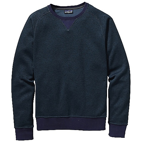 On Sale. Free Shipping. Patagonia Men's Brisker Crew DECENT FEATURES of the Patagonia Men's Brisker Crew Fabric has a Sweater-Knit Face, Fleece Interior and Heathered Yarns Classic Crewneck Sweatshirt with Rib-Knit Neck, Cuffs and Hem Raglan Sleeves with Curved Seams and Underarm Patterned for Mobility V-Shaped Rib-Knit Detailing on Center Front Neckline Hip Length The SPECS Regular fit Weight: 14 oz / 396 g 9 oz 100% Polyester Fleece This product can only be shipped within the United States. Please don't hate us. - $56.99