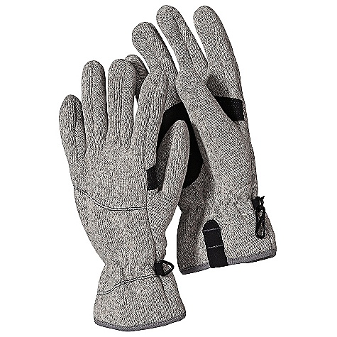Patagonia Women's Better Sweater Glove DECENT FEATURES of the Patagonia Women's Better Sweater Glove Warm, soft and quick-drying recycled polyester fleece Micro suede palm pads and pull tabs at hem Elastic wrist closure to seal out cold S-hook triangle keeper clip to secure gloves The SPECS Weight: 2.2 oz / 68 g 9.5-oz 100% polyester with a sweater-knit exterior and fleece interior This product can only be shipped within the United States. Please don't hate us. - $39.00