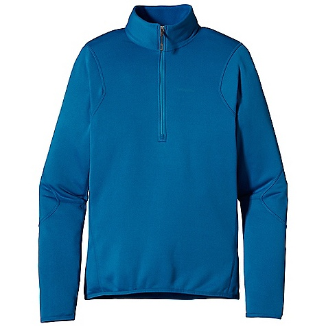 Free Shipping. Patagonia Men's Piton Pullover DECENT FEATURES of the Patagonia Men's Piton Pullover Polartec Power Dry fabric provides superior stretch, warmth and moisture management durable, smooth jersey face slides easily beneath layers Front zipper allows for easy pull over and venting when needed Nylon elastic cuffs and hem seals out wind No shoulder seams for pack-wearing comfort The SPECS Slim fit Weight: 7.9 oz / 224 g 5.9-oz Polartec Power Dry 94% polyester (54% recycled)/6% spandex This product can only be shipped within the United States. Please don't hate us. - $99.00