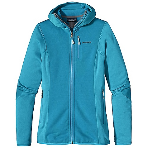 On Sale. Free Shipping. Patagonia Women's Piton Hybrid Hoody DECENT FEATURES of the Patagonia Women's Piton Hybrid Hoody Polartec Wind Pro with Hard face Technology and a Deluge DWR finish protects your front torso and elbows from wind, moisture and abrasion Polartec Power Dry fabric provides superior stretch, warmth and moisture management in the main body; durable, smooth jersey face slides easily beneath layers Warm, brushed-fleece interior moves moisture quickly to the fabric face Snug-fitting balaclava-style hood stretches and moves with you Micro fleece at back of neck, chin guard, cuffs and hem Two zippered hand warmer pockets one zippered chest pocket No shoulder seams for pack-wearing comfort The SPECS Slim fit Weight: 10.9 oz / 309 g Front Body Panels: 7.9-oz Polartec Wind Pro 90% polyester (50% recycled)/10% spandex with Hard face Technology and a Deluge DWR (durable water repellent) finish. Back and side panels 5.9-oz Polartec Power Dry 94% polyester (54% recycled) 6% spandex This product can only be shipped within the United States. Please don't hate us. - $115.99