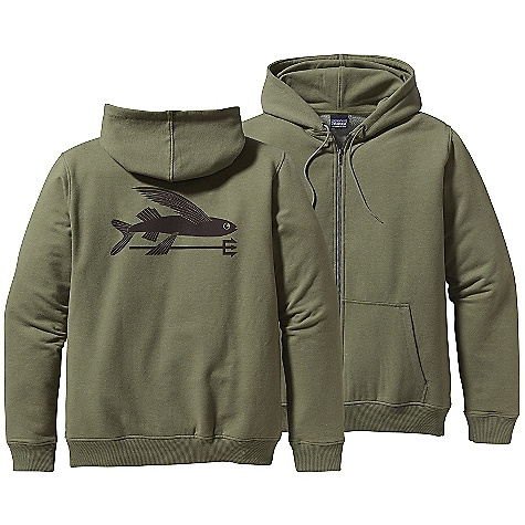 Free Shipping. Patagonia Men's Phone Home Sweatshirt DECENT FEATURES of the Patagonia Men's Phone Home Sweatshirt Classic hoodie design with a modern fit and built-in stretch Full-zip fleece hoodie with patch pockets Double-lined hoodie with drawstring to lock down for dawn patrol The SPECS 8.9-oz 57% organic cotton, 38% polyester, 5% spandex fleece 708 g (25 oz) Slim fit This product can only be shipped within the United States. Please don't hate us. - $99.00