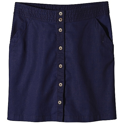 Free Shipping. Patagonia Women's Summertime Skirt DECENT FEATURES of the Patagonia Women's Summertime Skirt Soft blend of hemp and cotton drapes like linen A-line skirt has decorative stitching on the double-button waistband Two drop-in pockets in front Placket has coconut buttons Darts in back for shaping 18in. from waistband to hem The SPECS Regular fit Length: 18in. 4-oz 55% hemp, 45% organic cotton plain weave This product can only be shipped within the United States. Please don't hate us. - $59.00
