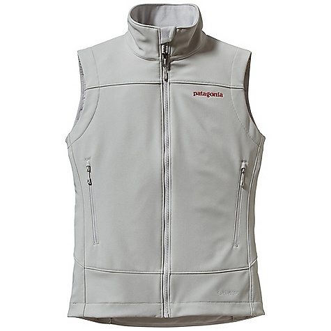 Free Shipping. Patagonia Women's Adze Vest DECENT FEATURES of the Patagonia Women's Adze Vest Polartec Windbloc stretch-woven polyester soft-shell fabric with a DWR finish stops wind and resists precip A fleece grid backer warms and wicks moisture Micro fleece-lined neck and wind flap for next-to-skin comfort Two harness- and pack-compatible hand warmer pockets and one internal chest pocket, all with reverse-coil zippers Draw cord hem The SPECS Regular fit   Weight: 12.7 oz / 360 g 9-oz Polartec Windbloc 93% polyester 7% spandex, with a DWR (durable water repellent) finish This product can only be shipped within the United States. Please don't hate us. - $119.00