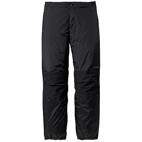 Free Shipping. Patagonia Men's Torrentshell Stretch Pant DECENT FEATURES of the Patagonia Men's Torrentshell Stretch Pant H2No Performance Standard waterproof/breathable 2.5-layer nylon ripstop shell, with 2.5-layer stretch panels at the knees for mobility Separating waist has watertight zip fly with snap closure, partially elasticized waistband and snap tab closures at side zips Full-length two-way side zips with watertight-coated zippers Elasticized cuffs with snap tab closures at ankles seal out moisture The SPECS Regular fit Weight: 10.8 oz / 306 g H2No Performance Standard shell: 2.5-layer, 2.4-oz / 40-denier 100% nylon ripstop with a waterproof/breathable barrier and a Deluge DWR (durable water repellent) finish Knees: H2No Performance Standard 2.5-layer, 4-oz / 40-denier 100% nylon with mechanical stretch, a waterproof/breathable barrier and Deluge DWR finish This product can only be shipped within the United States. Please don't hate us. - $169.00