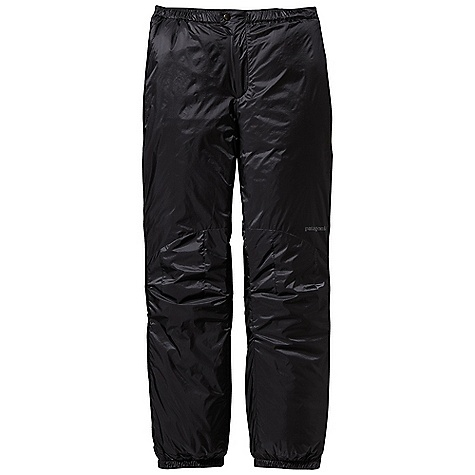 Free Shipping. Patagonia Men's Das Pant DECENT FEATURES of the Patagonia Men's Das Pant Lightweight, PU-coated nylon ripstop shell is durable, highly water-resistant, windproof and treated with a DWR finish Highly compressible, water-resistant 100-g Prim aloft One insulation provides maximum warmth for its weight Pants have elasticized waist with velcro tab adjustments at side zips, and separating two-way zip fly with snap closure Full-length two-way side zips with insulated wind flaps for easy on/off Elasticized mini-gaiter cuffs with snap tab closures lock in heat and accommodate an alpine boot The SPECS Regular fit Weight: 15.3 oz / 434 g 1.2-oz 20-denier 100% nylon PU-coated ripstop with a DWR (durable water repellent) finish Insulation: 100-g PrimaLoft One 100% polyester This product can only be shipped within the United States. Please don't hate us. - $199.00
