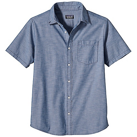 On Sale. Free Shipping. Patagonia Men's Bluffside Shirt FEATURES of the Patagonia Men's Bluffside Shirt Made of a softly textured 100% organic cotton slub-yarn woven fabric Button-front shirt with left-chest patch pocket Shirttail hem - $54.99