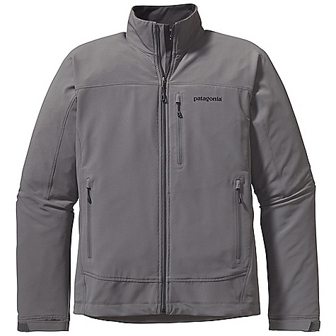 Free Shipping. Patagonia Men's Simple Guide Jacket DECENT FEATURES of the Patagonia Men's Simple Guide Jacket Lightweight, breathable, wind-and abrasion-resistant stretch-woven soft-shell fabric treated with a Deluge DWR finish wicks moisture and dries quickly Micro fleece-lined neck and wind flap for next-to-skin comfort Pockets: two zippered hand warmers and zippered exterior left chest All zippers have a garage, and a DWR finish Hook-and-loop cuff closures for a secure fit Draw cord hem The SPECS Regular fit Weight: 15 oz / 425 g 6.2-oz 91% all-recycled polyester, 9% spandex double weave, with a Deluge DWR (durable water repellent) finish This product can only be shipped within the United States. Please don't hate us. - $119.00