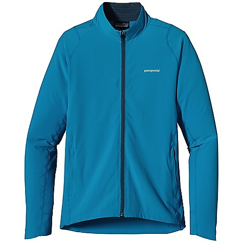 Free Shipping. Patagonia Men's Traverse Jacket DECENT FEATURES of the Patagonia Men's Traverse Jacket Made of a durable recycled polyester/spandex blend with a Deluge DWR finish New slim-fit styling with strategic seam placement designed for movement with minimal bulk Slight drop in rear hem and additional sleeve length over hand for added coverage Reflective logos at left chest and below neck The SPECS Slim fit Weight: 9.5 oz / 269 g 4.7-oz 93% all-recycled polyester, 7% spandex, with a Deluge DWR finish This product can only be shipped within the United States. Please don't hate us. - $129.00