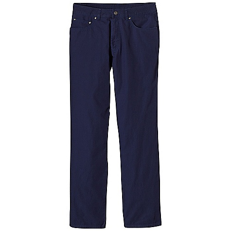 Free Shipping. Patagonia Men's Guild Pant DECENT FEATURES of the Patagonia Men's Guild Pant Made of a lightweight and durable washed organic cotton fabric with burly contrast stitch thread Pants with classic 5-pocket-styling, rear yoke and belt loops with new and improved straight leg fit Metal antique nickel shank-button closure and zip fly The SPECS Slim fit Inseam: 32in. Weight: 11.8 oz / 334 g 5.2-oz 100% organic cotton canvas This product can only be shipped within the United States. Please don't hate us. - $69.00
