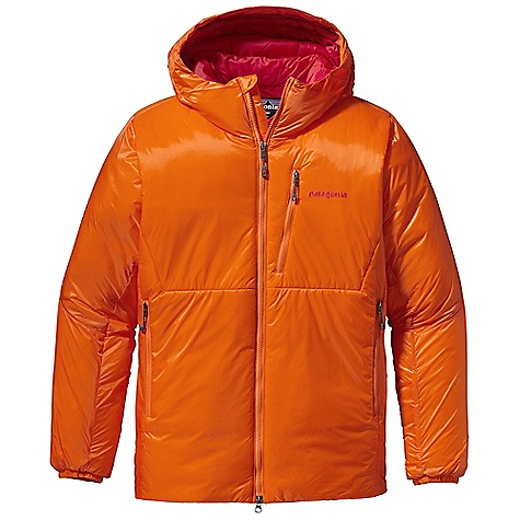 The Patagonia Men's Das Parka is an insulated Climbing jacket for alpine adventuring. Whether you're belaying your buddy, hunkering down at base camp, or actively moving up the mountain, the 120g PrimaLoft Silver Insulation Hi-Loft warms the Upper body throughout. Now with a Slimmer Fit, it's less bulky while still providing the same cozy warmth you've always loved. The windproof, nylon ripstop shell is PU-coated, adding water-resistance so you can battle through all types of weather. The helmet-compatible hood keeps your head in the game as the wind rushes at High-altitude. Features of the Patagonia Men's Das Parka Lightweight, Pu-Coated Nylon Ripstop Shell is Durable, Highly Waterresistant, Windproof and Treated with a DWR Finish Insulated Throughout with High-Loft 120-g Primaloft Synergy and An Added Layer of Heat-Trapping 60-g Primaloft One in The Chest, Abdomen and Back for Core Warmth Helmet-Compatible Hood with Visor and Single-Pull Drawcord to Adjust Overall Volume and Peripheral Vision Full-Length, 2-Way Zipper with Internal, Insulated Wind Flap and Fold-Over Zipper Garage for Chin Comfort Pockets: Two Zippered, Insulated Handwarmers Two Large Interior Mesh Drop-Ins One Exterior Zippered Chest Elasticized Cuffs and Discreet Drawcord At Droptail Hem Seals in Warmth Stuff Sack Included - $299.00