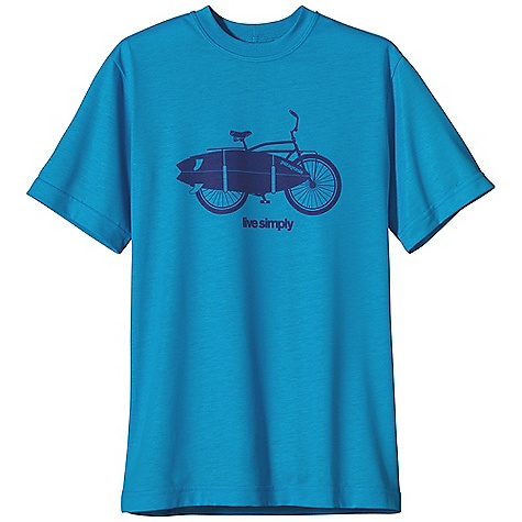 Patagonia Boy's Polarized Graphic Tee DECENT FEATURES of the Patagonia Boys' Polarized Graphic Tee Made of super comfortable polyester jersey fabric with 20-UPF sun protection Tee features three graphic options Straight hem The SPECS Regular fit Weight: 4.4 oz / 125 g 4.8-oz 100% polyester jersey This product can only be shipped within the United States. Please don't hate us. - $29.00
