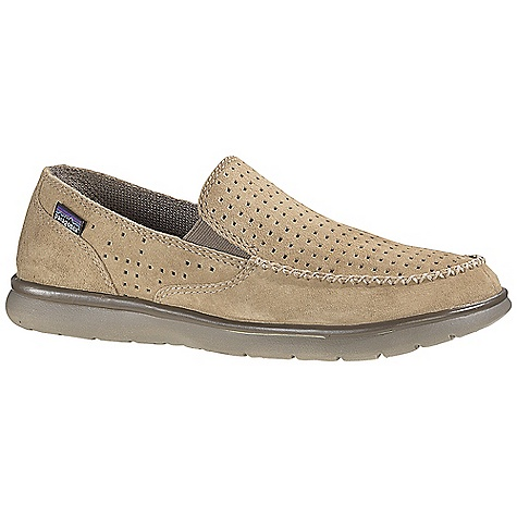 Skateboard Free Shipping. Patagonia Footwear Men's Maui Air Shoe DECENT FEATURES of the Patagonia Men's Maui Air Shoe Stain-resistant, breathable perforated pigskin upper Breathable polyester air mesh lining 20% Recycled EVA footbed provides support and comfort Patagonia Air Cushion Plus provides shock absorption 20% Recycled EVA midsole provides cushioning and comfort Maui high abrasion EVA outsole provides the ultimate lightweight platform Construction: Slip lasted Last Characteristics: Medium to wide width, Full toe box, Medium arch/instep The SPECS Weight: 1/2 pair: 6.5 oz Better Leather Soft support/flex - $89.95
