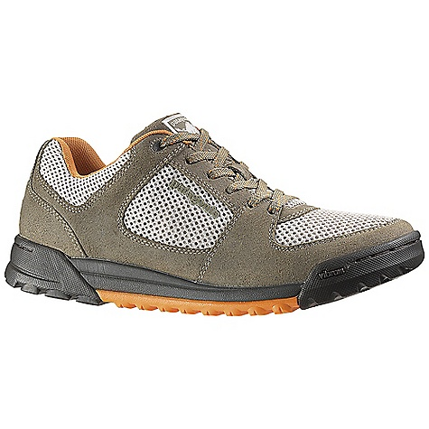 Camp and Hike Free Shipping. Patagonia Footwear Men's Javelina A-C Shoe DECENT FEATURES of the Patagonia Men's Javelina A/C Shoe Oiled suede leather and breathable mesh upper Mesh lining wicks moisture and controls odor 15% recycled EVA footbed follows the counter of the foot for comfort 2.5mm nylon 6.6 injection molded arch shank provides support under the arch and a natural flex at the ball of the foot Recycled insole provides support and underfoot protection Patagonia Air Cushion Plus absorbs shock Low profile Vibram sole with self cleaning lug provides ultimate traction Stitched outsole construction provides durability while minimizing the use of solvents and adhesives Construction: Strobel Last characteristics: Medium width, full toe box, medium arch/instep The SPECS Weight: 1/2 pair: 13.4 oz Better leather Medium Support/flex Vibram - $119.95