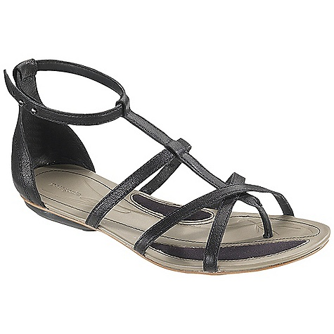 Entertainment Free Shipping. Patagonia Women's Bandha Criss-Cross Sandal DECENT FEATURES of the Patagonia Women's Bandha Criss-Cross Sandal Full grain leather upper Glove-like pigskin lining provides luxurious feel and comfort Latex foam footbed for superior comfort and support Patagonia Air Cushion technology in heel for comfort 2mm Steel shank provides underfoot stability and proper flex in forefoot Recycled synthetic leather sole with 20% Recycled Rubber heel and forefoot pads for added traction cushioning and durability Construction: Cement Last Characteristics: Medium width, Toe box, Arch/support The SPECS Weight: 1/2 pair: 6.34 oz Better Leather Medium support/flex Recycled Rubber - $109.95