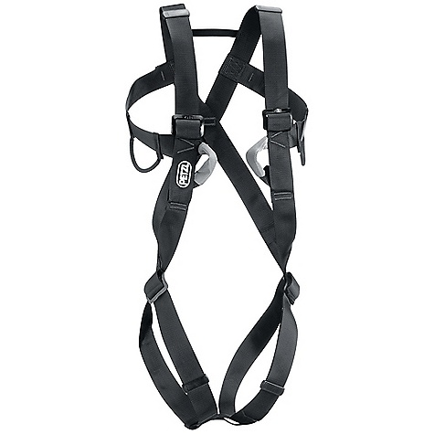 Climbing Free Shipping. Petzl Men's 8003 Full Body Harness DECENT FEATURES of the Petzl Men's 8003 Full Body Harness Wide, flexible webbing Fully adjustable shoulder straps and leg loops for precise fit Two flexible equipment loops The SPECS Case Quantity: 12 Material: high-strength polyester webbing Certification(s): CE, EN 12 277 type A, UIAA 105 The SPECS for 1 Weight: 580 g Waist belt: 60 - 95 cm Leg loops: 42 - 62 cm The SPECS for 2 Weight: 610 g Waist Belt: 75 - 105 cm Leg Loops: 52 - 77 cm ALL CLIMBING SALES ARE FINAL. - $125.00