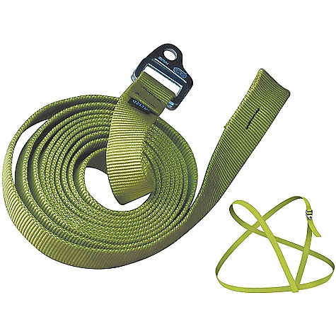 Climbing Petzl Serpentine Shoulder Strap FEATURES of the Serpentine Shoulder Strap by Petzl Can be configured in a variety of ways to position the CROLL for rope ascents Simple adjustment via the single DoubleBack buckle SPECIFICATIONS: Weight: 135 g Materials: aluminum adjustment buckle, abrasion resistant polyester webbing 3-year guarantee ALL CLIMBING SALES ARE FINAL. - $26.95