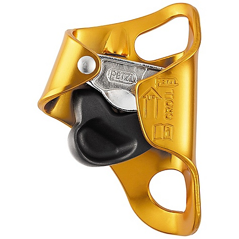 Climbing Free Shipping. Petzl Croll Ascender The SPECS Weight: 130 g For use with ropes between 8 and 13 mm in diameter Materials: Aluminum for the frame, chrome steel for the cam, nylon for the trigger 3-year guarantee Certification: CE / UIAA ALL CLIMBING SALES ARE FINAL. - $59.95