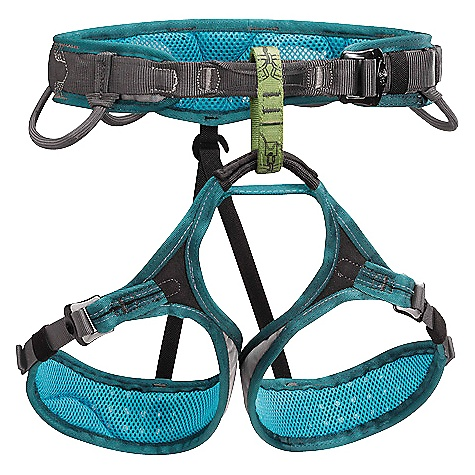 Climbing Free Shipping. Petzl Women's Luna Climbing Harness The SPECS Certification: CE, EN 12277 type C, UIAA 105 3-year guarantee Materials: High-strength polyester webbing, Polyethylene/EVA foam, Perforated closed cell foam, Woven polyester wicking mesh, High-strength mono-filament mesh The SPECS for Small Weight: 410 g Waist Measurement: 60 - 71 cm Thigh Measurement: 47 - 57 cm The SPECS for Medium Weight: 425 g Waist Measurement: 67 - 81 cm Thigh Measurement: 52 - 62 cm The SPECS for Large Weight: 450 g Waist Measurement: 74 - 89 cm Thigh Measurement: 57 - 67 cm ALL CLIMBING SALES ARE FINAL. - $85.95